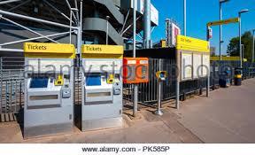 Metrolink Ticket Vending Machine Mesmerizing Metrolink Tram Ticket Vending Machine Manchester City Centre UK