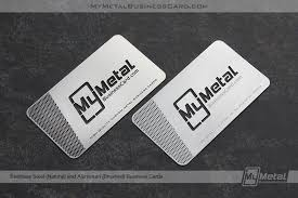 Steel Business Cards Aluminum Business Cards World Leader In Metal Business Cards