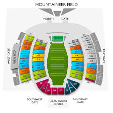 West Virginia Basketball Arena Seating Chart West Virginia Vs Maryland Tickets Ticketcity