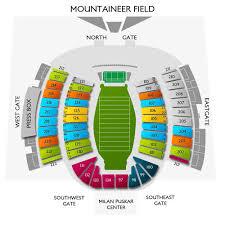 Wvu Football Seating Chart Wvu Football Tickets 2019 West Virginia Mountaineers Games