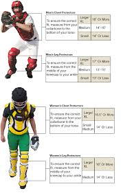 Easton Catchers Gear Size Chart 13 Unusual Catcher Gear Size Chart