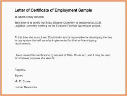 Example Of A Certificate Of Employment 30 Free Proof Of Employment Form Download Best Form Map Picture