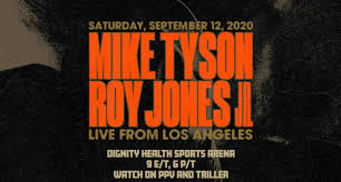 In a legends' fight on september 12 in california. 54 Year Old Mike Tyson Will Fight 51 Year Old Roy Jones Jr In An Exhibition Broadcast On Triller And Ppv