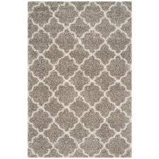 safavieh hudson gray ivory 6 ft x 9 ft area rug
