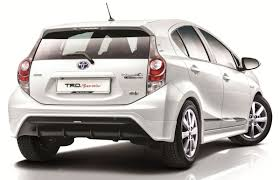 Toyota Prius c TRD Sportivo introduced in Malaysia | komarjohari