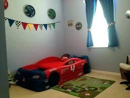 race car bedroom decor racing wall d on boys ideas cars themed bed