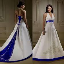 white and blue wedding dresses naf dresses