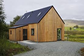 Design House Exterior Classy RHouse A Prefab Home For Rural Scotland Rural Design Architects