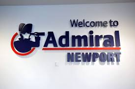 the official launch of admiral insurance in newport