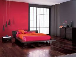 black bedroom furniture wall color. Awesome Contemporary Black Bedroom Furniture Cabinets Design With Red Brown Wall Color Decorating Together