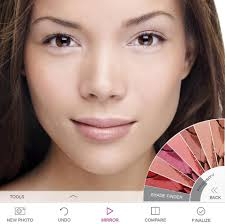 the jane iredale ipad app is among many that are beginning to allow women to virtually