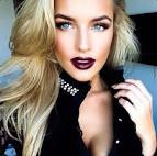 Dark eye makeup for blondes pictures