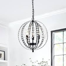 black globe chandelier 3 light matte black globe chandelier benita 5 light antique black metal strap globe chandelier