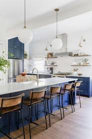 Best 25+ Blue kitchen decor ideas on Pinterest | Blue kitchen island,  Kitchen island globe lighting and Blue home decor