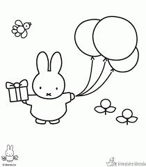 Kleurplaten Nijntje Kleurplaten Kleurplaatnl Rabbits Art