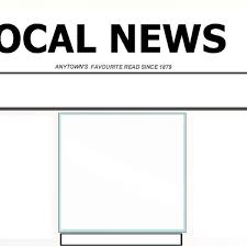 Newspaper Front Template Blank Newspaper Front Cover Template Inside Blank Newspaper