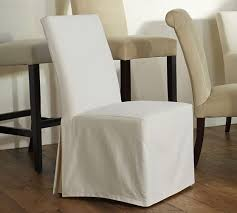 slipcovered dining chairs. PB Comfort Square Slipcovered Dining Chairs P