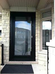 single glass exterior door modern contemporary front fiberglass entry door frosted glass design front door single