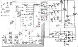 free electronic circuits & 8085 projects blog archive wireless Wiring a Ceiling Fan with Light at Remote Ceiling Fan Schematic Wiring Diagram