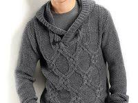 мужские свитера: лучшие изображения (56) | Мужские свитеры ...