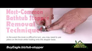 How-To Remove Most-Common Bathtub Stoppers - Replace with Watco ...