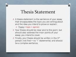 theme unit short story essay thesis statement o a thesis  2 thesis statement