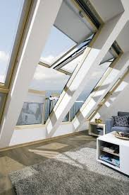 fakro design idea. An Innovative, Large Window Whose Sashes When Opened Crate A Balcony - FAKRO Fakro Design Idea I