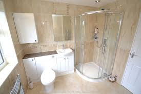 Fully Tiled Bathroom Fitted Bathroom With Knock Through In Banstead By Our Bathroom Fitters