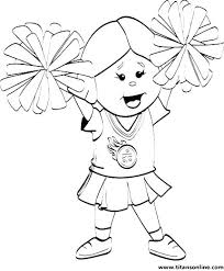 Cheerleader Coloring Pages Printable Coloring Pages Monster High