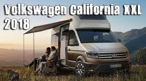 2018 volkswagen camper. beautiful volkswagen new 2018 volkswagen crafter california xxl concept inspired by the t6  camper in volkswagen camper c