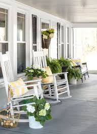 front porch seating. Really Praying Our Retirement House Will Have A Lovely Porch To Relax On. Love The Gray Floor And White Furniture Front Seating I
