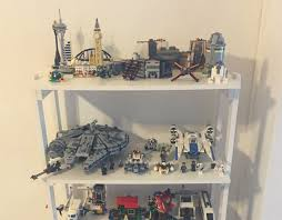 step 3 creating a display for completed lego