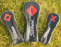 headcovers titleist leather headcover driver 90 fairway 85 hybrid 80