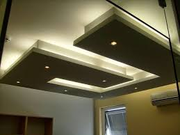 Small Picture gypsum board false ceiling designs or living room modern LED