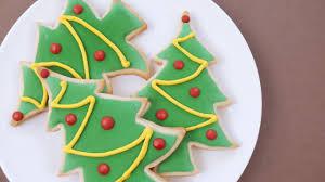 Sugar Cookie Tree Designs How To Decorate Christmas Sugar Cookies