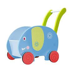 labebe baby walker with wheel blue elephant walker 2 in 1 wooden activity walker for baby 1 3 years push toy baby wagon infant walker baby activity