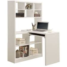 office desk shelf. Monarch Specialties White Hollow Core LeftRight Facing Desk And Shelf Combo 2 In Hollowcore Corner Is Also A Shelving Unit Office C