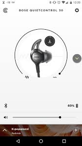 bose qc30. bose quietcontrol 30 app picture qc30
