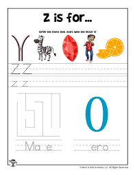 If you want more alphabet sheets. Letter Z Phonics Recognition Worksheet Woo Jr Kids Activities
