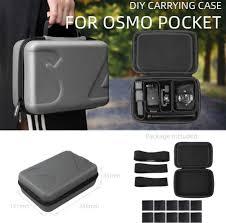 Portable Handheld <b>Hard Bag Storage Carrying Case</b> For DJI OSMO ...