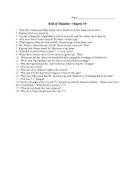 roll of thunder hear my cry chapter th th grade lesson  roll of thunder hear my cry chapter 10 5th 10th grade lesson plan lesson planet