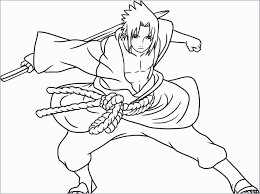 Naruto Coloring Pages Sasuke Fresh Free Kids Coloring Uchiha Sasuke