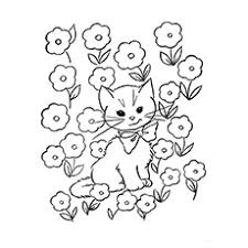 Many pictures of cats, kittens coloring sheets and pictures. Top 30 Free Printable Cat Coloring Pages For Kids