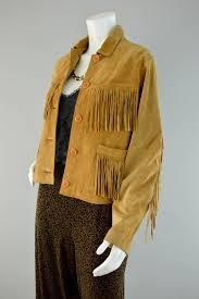 80s leather fringe jacket vintage sea dream suede leather