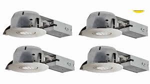 4 dimmable downlight swivel spotlight recessed lighting kit contractors 10