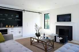 tv niche remodel living room wet bar nook niche over fireplace gray tufted sectional with extraordinary