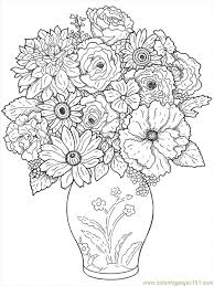 Free Printable Coloring Image Flower Coloring Pages 24 My Kids