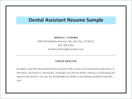 Perfect Objective For Resume Extraordinary Dental Assistant Duties For Resume Also Dental Resume Objective