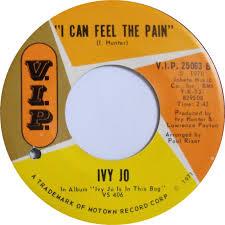45cat - Ivy Jo - I'd Still Love You / I Can Feel The Pain - V.I.P. - USA -  V.I.P. 25063