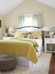 Bright Yellow Bedroom Ideas 3